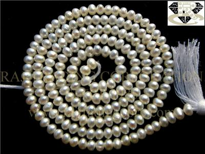 Cultured Freshwater Pearl Smooth Roundel (Quality AA)