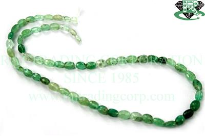 Emerald Faceted Oval (Quality C)