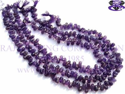 Amethyst (African) Smooth Drops (Quality B)