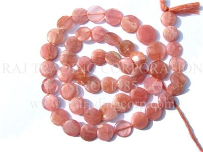 Rhodochrosite Smooth Coin (Quality AAA)
