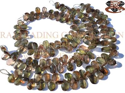 Andalusite Faceted Pear (Quality AAA)