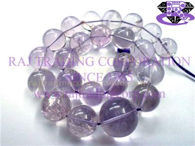 Amethyst (Light) Smooth Round (Quality A)