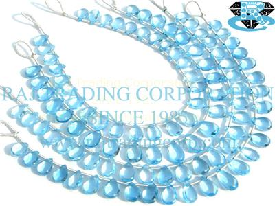 Sky Blue Topaz Smooth Pear (Quality AAA)