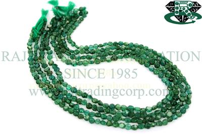 Emerald Green Apatite Smooth Coin (Quality B)