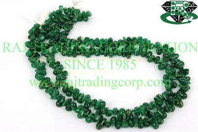 Green Aventurine Smooth Drops (Quality A)