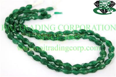 Green Aventurine Faceted Oval (Quality A)