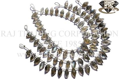 Labradorite Faceted Dew Drops (Quality AA)