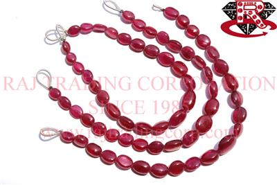 Ruby (Lead Filled) Smooth Oval (Quality AA+)