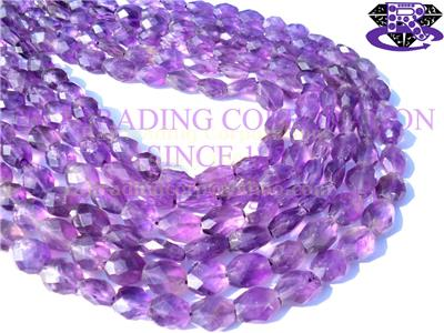 Amethyst (African) Faceted Oval (Quality B)